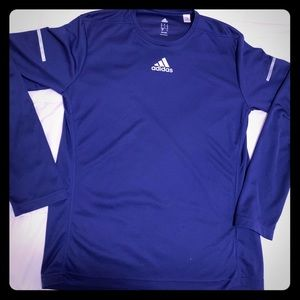 Adidas for runners long sleeve with reflectors
